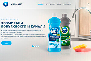 Screenshot of website Aromatic