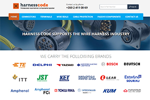 Website design and development of Harness Code