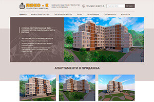 Screenshot of website Luko-K