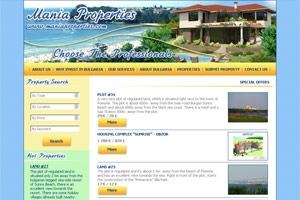 Снимка от уеб сайта Mania Properties