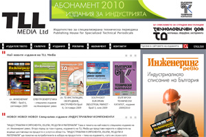 Website design and development of TLL Media