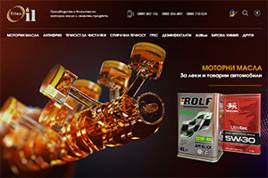 Website design and development of Trims Oil
