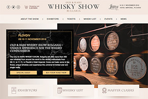 Screenshot of website Whisky Show